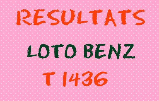 Résultat loto Benz T1436