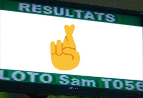 Résultats Loto lotto sam du samedi 21 juillet 2018