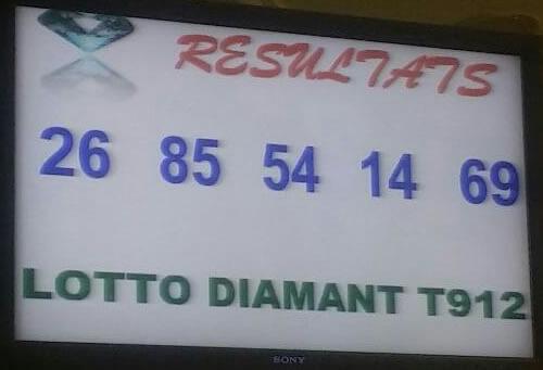 Loto fdj resultat diamant tirage 912