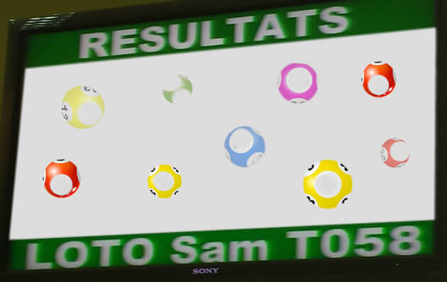Résultats lotto Sam T58