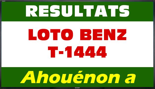 Loto Benz résultat du tirage 1444