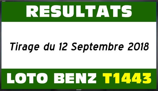 Résultats lotto Benz les numéros gagnant