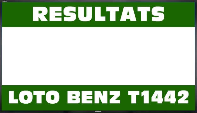 Resultats lotto Benz