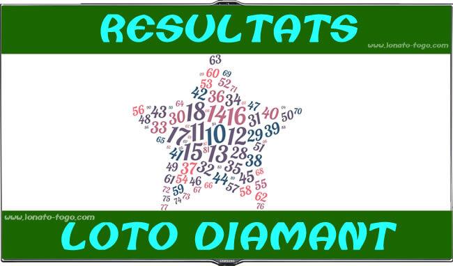 Numéros gagnants du Loto Diamant Tirage 918