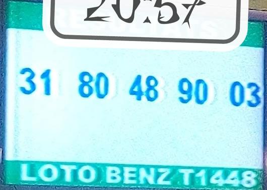 Les résultats du loto benz tirage 1448
