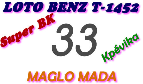Pronostic Lotto Benz tirage 1452