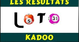 Les résultats des jeux du lotto Kadoo