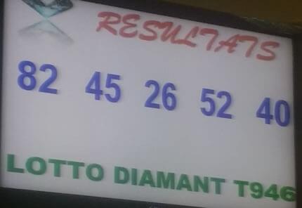 Les résultats du loto Diamant tirage 946 du 1er Avril 2019.