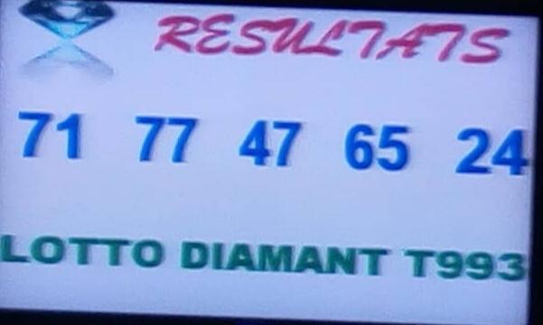 Résultats ou numéros gagnants du loto Diamant tirage 93