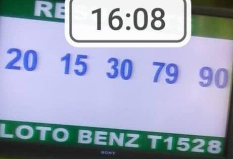 Les résultats du lotto Benz tirage 1528 20- 15 - 30 - 79 - 90