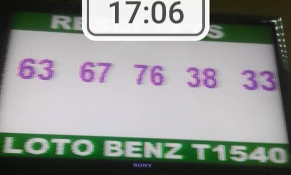 Résultats loto Benz tirage 1540