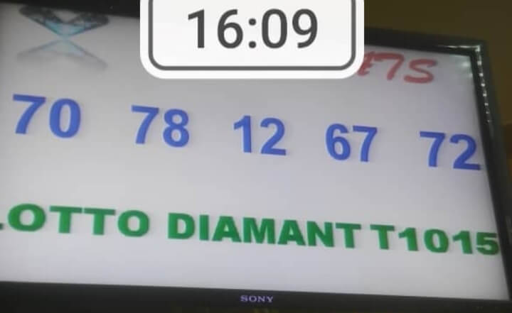 Numéros gagnants lotto Diamant tirage 1015