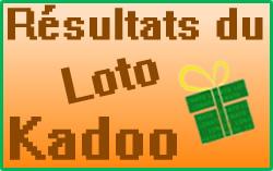 Numéros gagnants du loto Kadoo