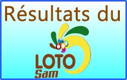 Les Numéros gagnants du loto Sam tirage 163 de ce 08 Août 2020
