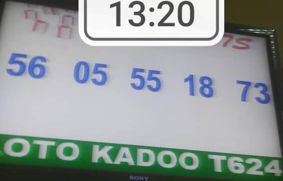 Numéros gagnants du loto Kadoo tirage 624