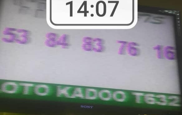Numéros gagnants du loto Kadoo tirage 632