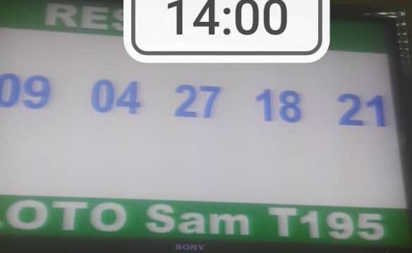 Résultats ou numéros gagnants loto SAM tirage 195