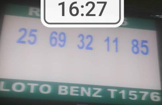 Numéros gagnants du loto Benz tirage 1576