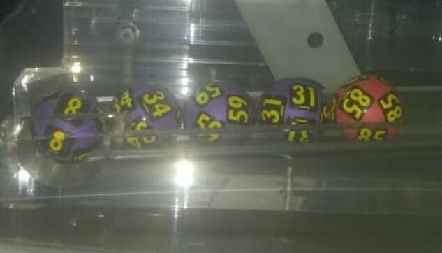 Numéroq gagnants du lotto Diamant tirage 1049