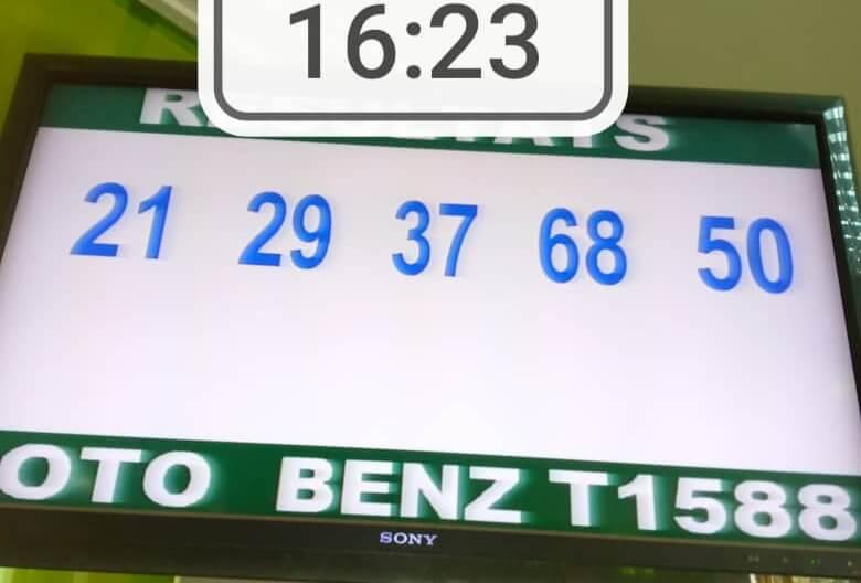 Résultats du loto Benz tirage 1588