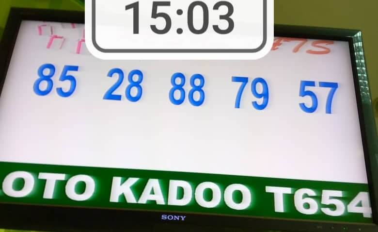 Résultats du loto Kadoo tirage 654