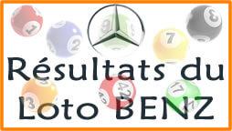 Résultats du loto Benz