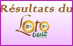 Résultats ou numéros gagnants du loto Benz tirage 1546