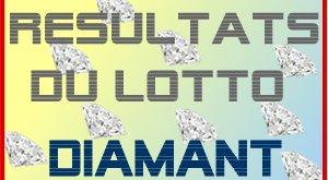 Affiches pour les résultats du lotto Diamant
